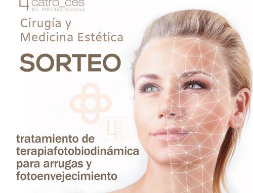 ¿Te gustaría ganar un tratamiento de terapia fotobiodinámica para arrugas y fotoenvejecimiento?
